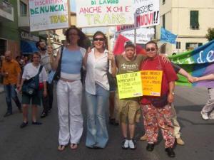 Al Pride di Grosseto nel 2004