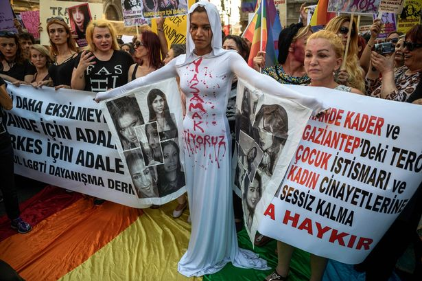 LGBT-protest-Istanbul
