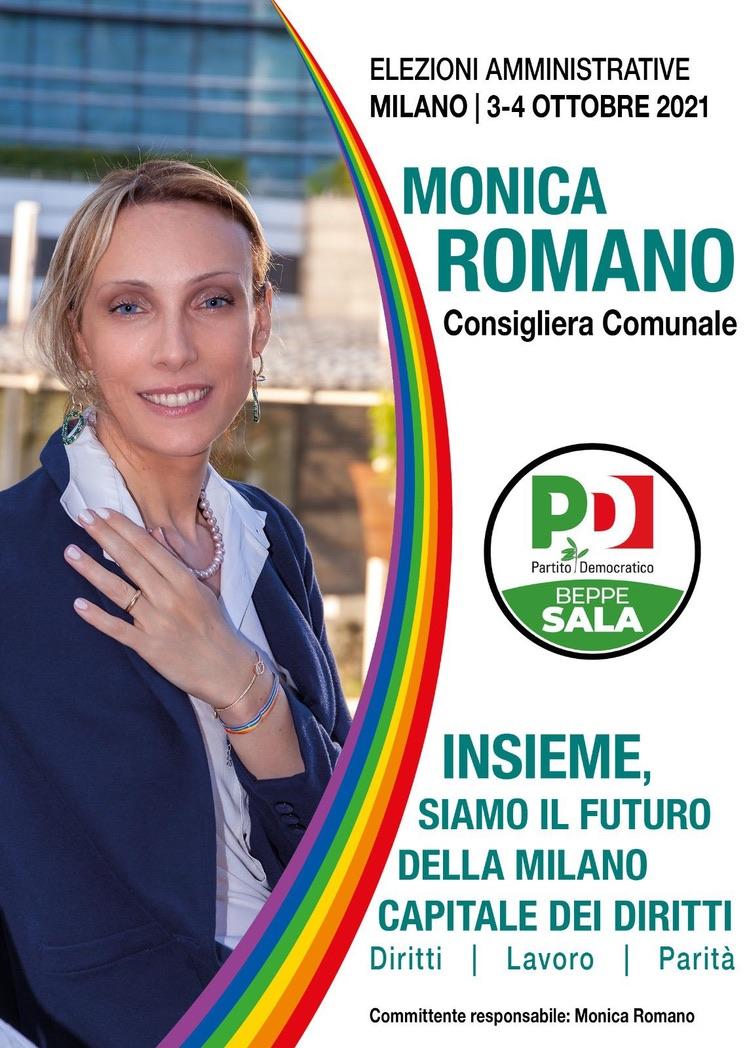 Monica Romano Candidata come consigliera comunale a Milano